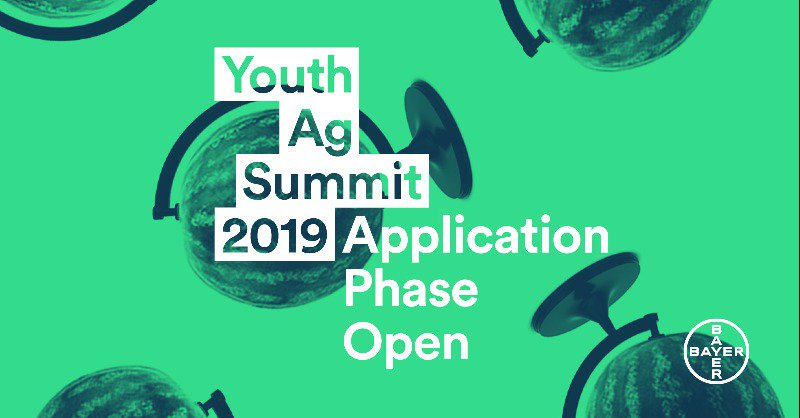 Apply to attend the Youth Ag Summit 2019 in Brasilia, Brazil (Fully-funded)
