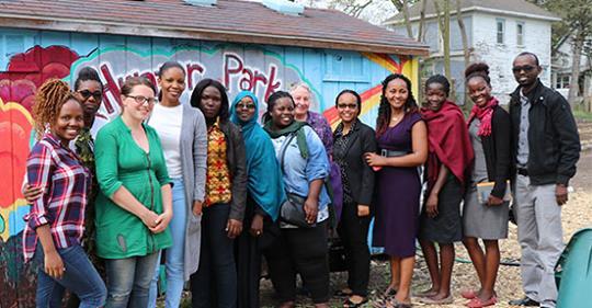 Advancing Young Women Professional Fellows Program 2019 at