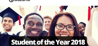 Adzuna Student of the Year Award 2018 (£3,500 prize)