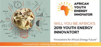 African Youth Energy Innovator Showcase 2019 (Fully-funded to Africa Energy Indaba Conference in Johannesburg)