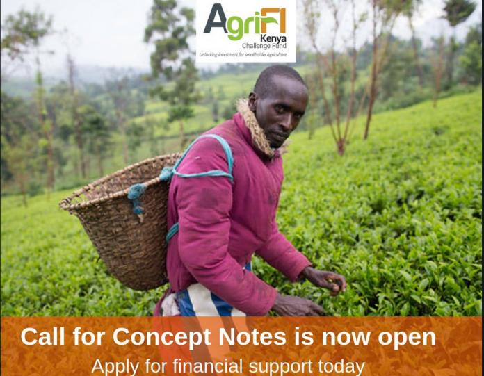 Agrifi Kenya Challenge Fund 2018/2019 (Up to 6,000,000 Euros)
