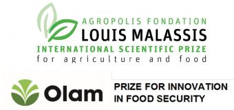 Agropolis Foundation Louis Malassis International Scientific Prize for Agriculture & Food 2019 and Olam Prize for Innovation in Food Security