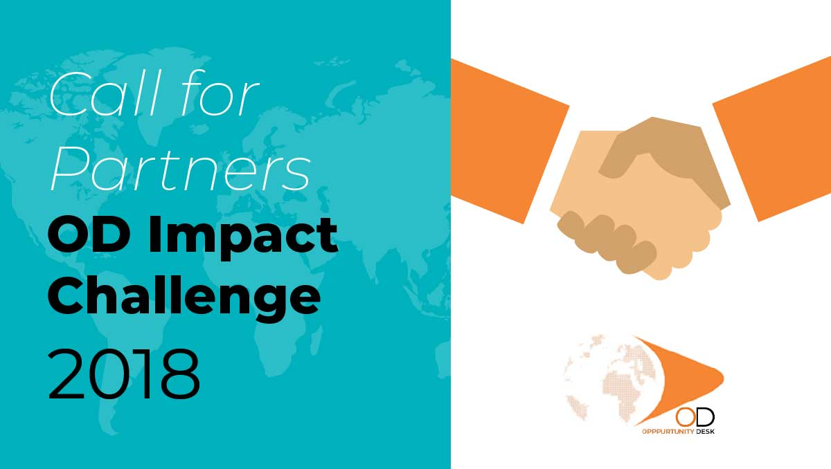 Call for Applications: Organizing Partners for the 2018 OD Impact Challenge!