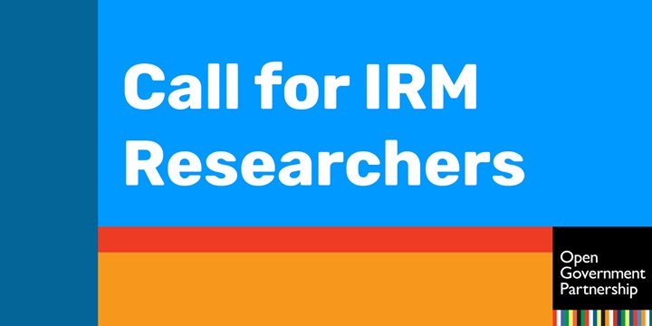 Call for Independent Reporting Mechanism (IRM) Local and National Researchers