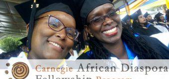 Carnegie African Diaspora Fellowship Program 2019 for African-born scholars (Fully-funded)