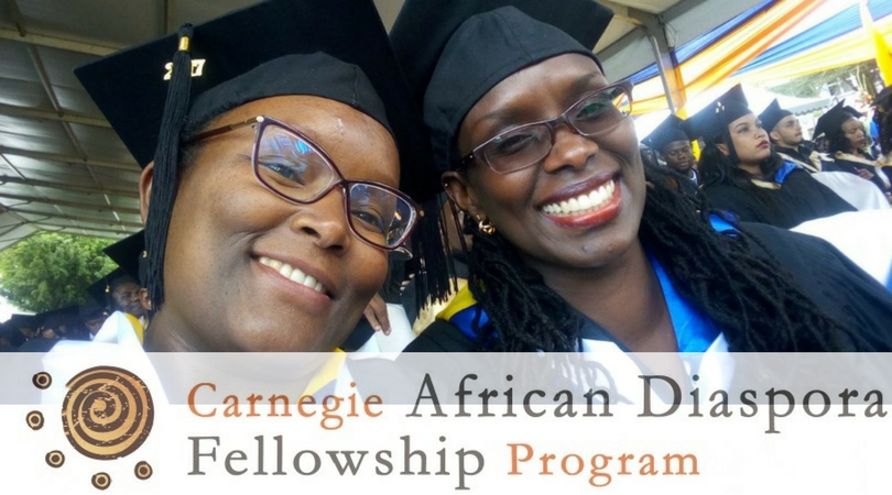 Carnegie African Diaspora Fellowship Program Fall 2018 (Fully-funded)
