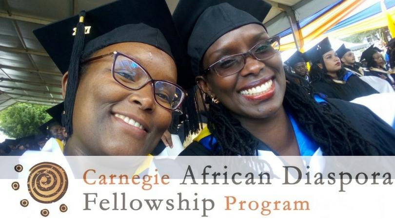 Carnegie African Diaspora Fellowship Program Fall 2018 (Fully-funded)