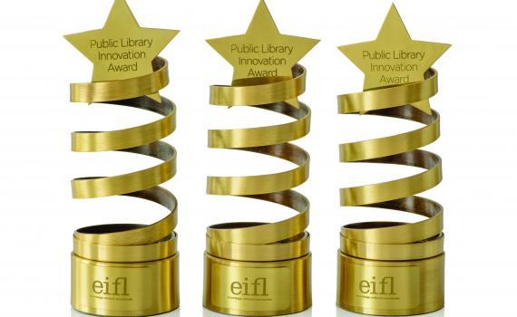 EIFL Public Library Innovation Award 2018 (USD$1,500 prize)