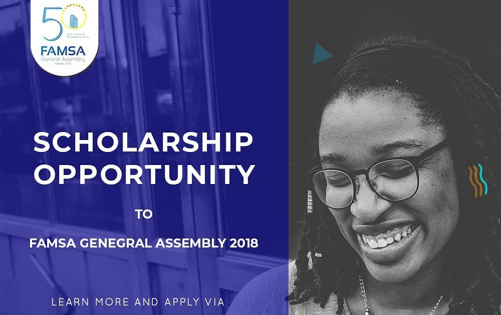 FAMSA General Assembly 2018 for Medical Students and Professionals (Fully-funded to Ibadan, Nigeria)