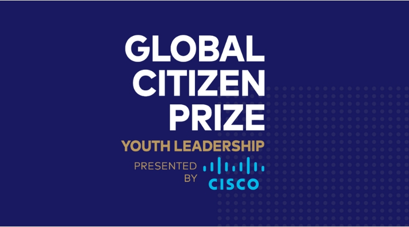 Global Citizen Prize for Youth Leadership 2018 (Win $250,000 and a trip to South Africa)