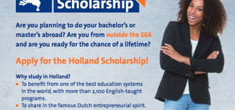 Holland Scholarship at Rotterdam School of Management – Erasmus University 2019/2020