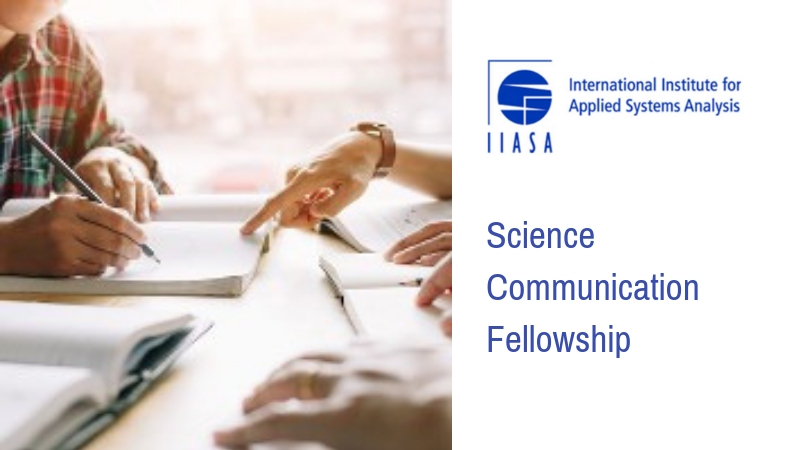 IIASA Science Communication Fellowship 2020 (Fully-funded to Vienna)