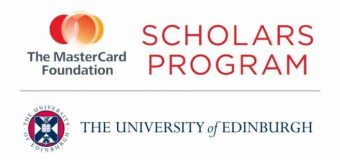 Mastercard Foundation Undergraduate Scholars Program at University of Edinburgh 2019/2020 (Fully-funded)