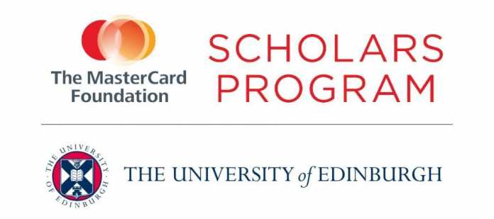 Mastercard Foundation Postgraduate Scholars Program at the University of Edinburgh 2019-2020