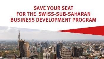 SWISS Africa Business Development Program 2019 (Fully-funded to Nairobi & Switzerland)