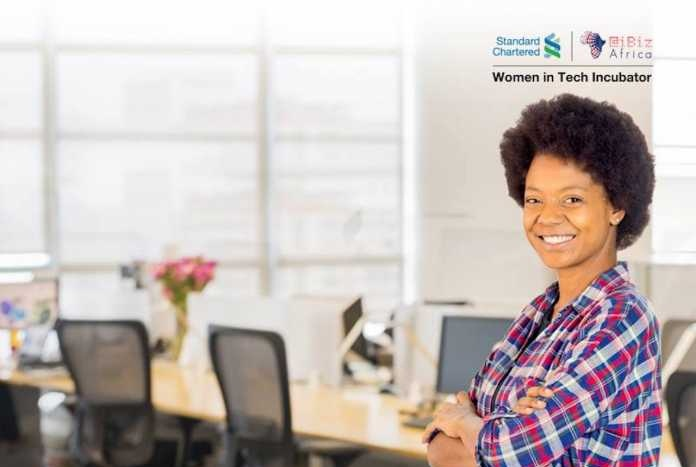 Standard Chartered Women in Tech Incubator Program 2018/2019
