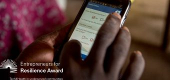 Swiss Re Foundation Entrepreneurs for Resilience Award 2019