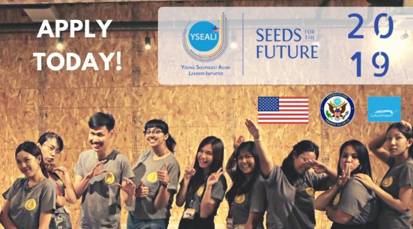 Young Southeast Asian Leaders Initiative (YSEALI) Seeds for the Future Grants Competition (up to $15,000)