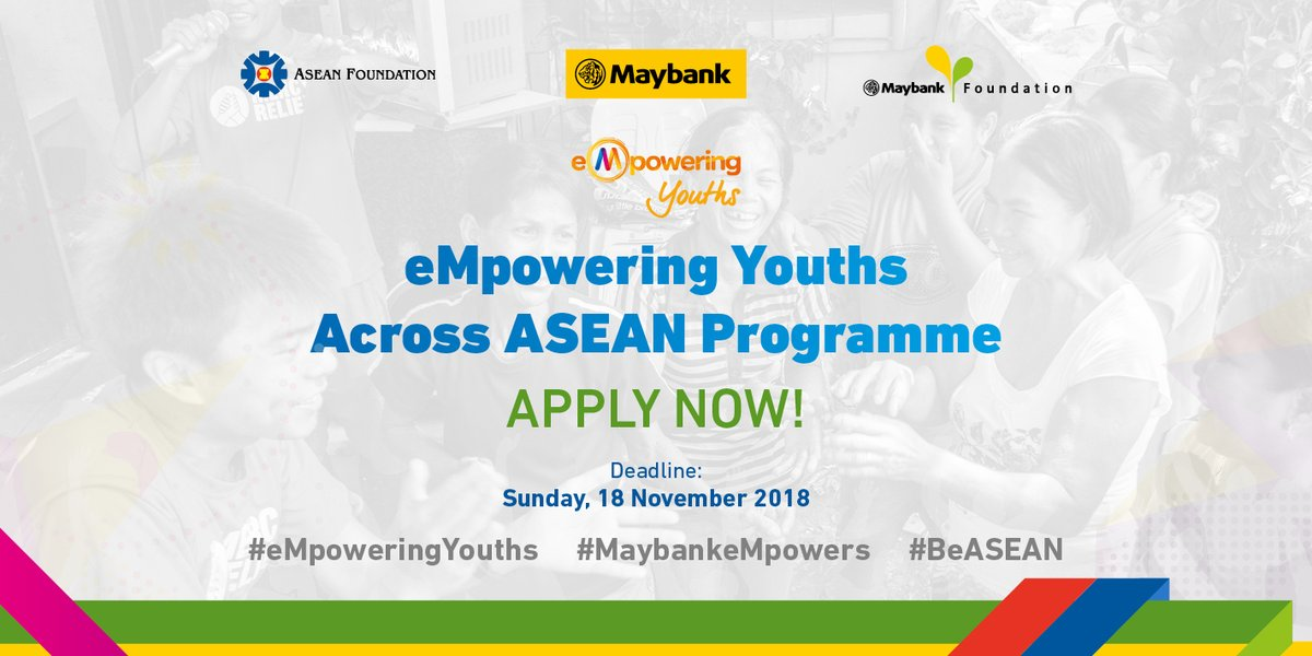 eMpowering Youths Across ASEAN Programme 2018 (fully-funded)