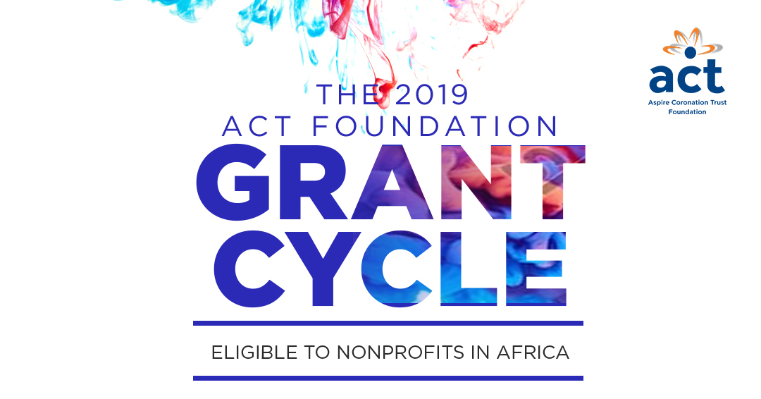 ACT Foundation Grant Programme 2019 for Nonprofits in Africa