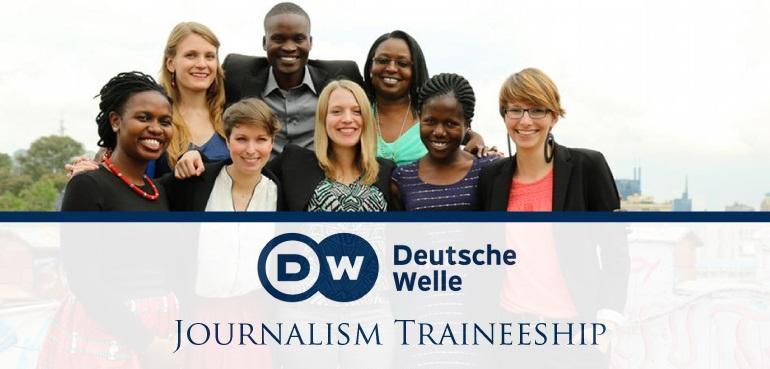 Deutsche Welle (DW) International Journalism Traineeship Program 2019