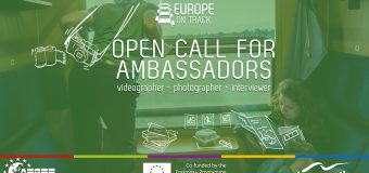 Travel around Europe as an Ambassador for Europe on Track Project 2019