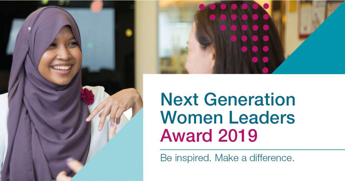 McKinsey&Company Next Generation Women Leaders Award 2019 (Fully-funded)