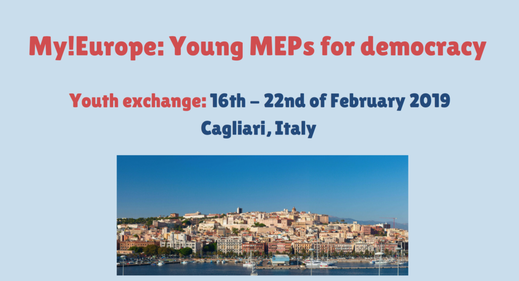 CfEP My!Europe – Young MEPs for Democracy Program 2019 (Fully-funded)