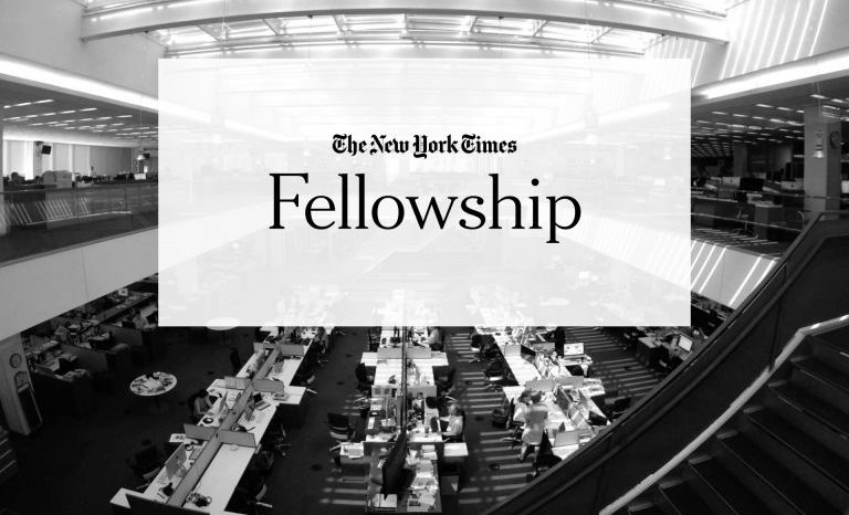 New York Times Fellowship Program 2019 for Journalists in the United States