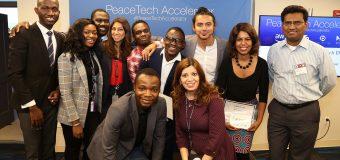 Apply to the PeaceTech Accelerator Program 2019 in Washington DC, USA