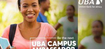 United Bank for Africa (UBA) Campus Ambassadors Program 2019