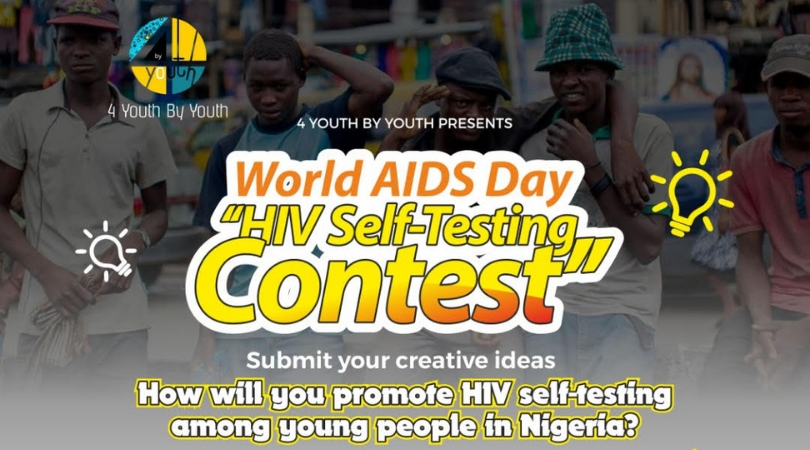 World AIDS Day HIV Self-Testing Contest 2018 for Nigerians (Up to N250,000 Prize and more)