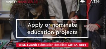 World Innovation Summit for Education – WISE Awards 2019 ($20,000 Prize)