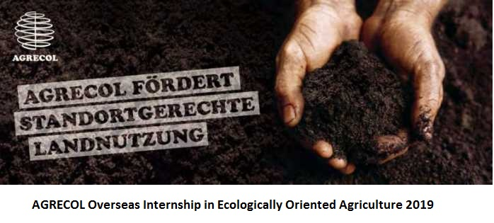 AGRECOL Overseas Internship in Ecologically Oriented Agriculture 2019