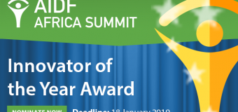 Call for Nominations: AIDF Africa Innovator Of The Year Award 2019