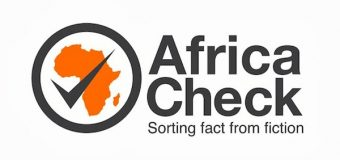 AfricaCheck Election Fact-Checking and Verification Training Workshop 2019 (Funded)