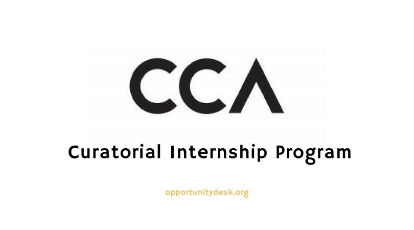 CCA Curatorial Internship Program 2019 – Montreal, Canada