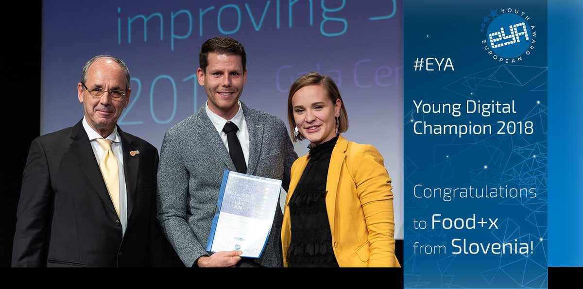 European Youth Award Contest 2019 for Digital Creativity Improving Society