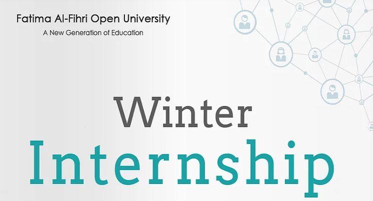 Fatima Al-Fihri Open University (FAOU) Winter Internship Program 2019