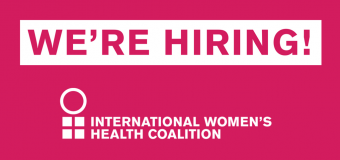 Hot Job: International Policy Program Officer Needed at IWHC – New York, USA