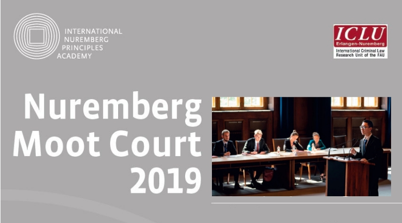 Nuremberg Moot Court 2019 for Law Students – Nuremberg, Germany (Funding Available)
