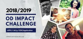 Apply for Opportunity Desk (OD) Impact Challenge 2018/2019 (Win Cash Prizes and More)