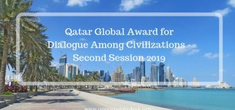 Qatar Global Award for Dialogue Among Civilizations – Second Session 2019