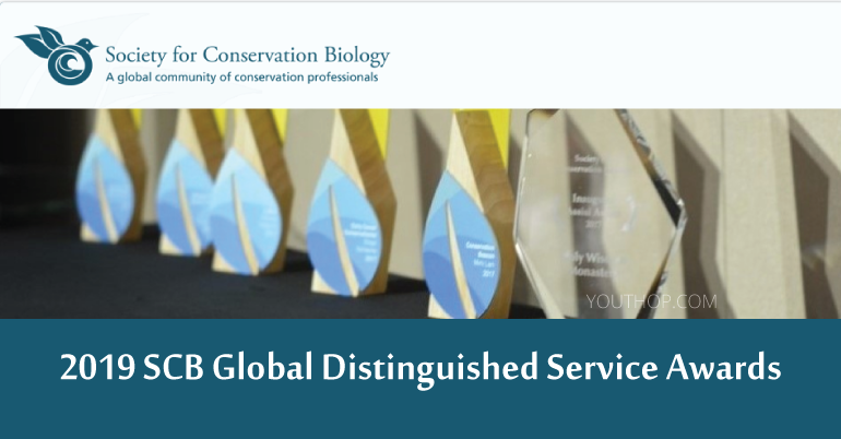 Society for Conservation Biology (SCB) Global Distinguished Service Awards 2019