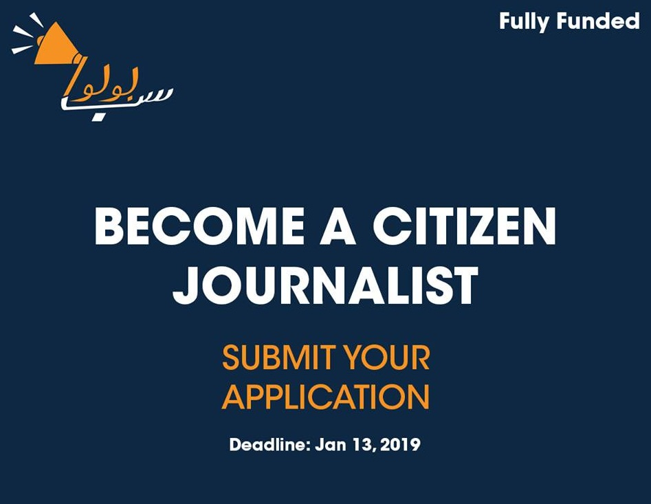 Subbolo Citizen Journalism Residency Program 2019 (Fully-funded)