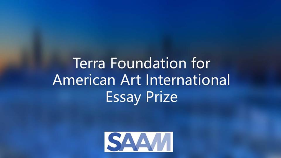 Terra Foundation for American Art International Essay Prize 2019