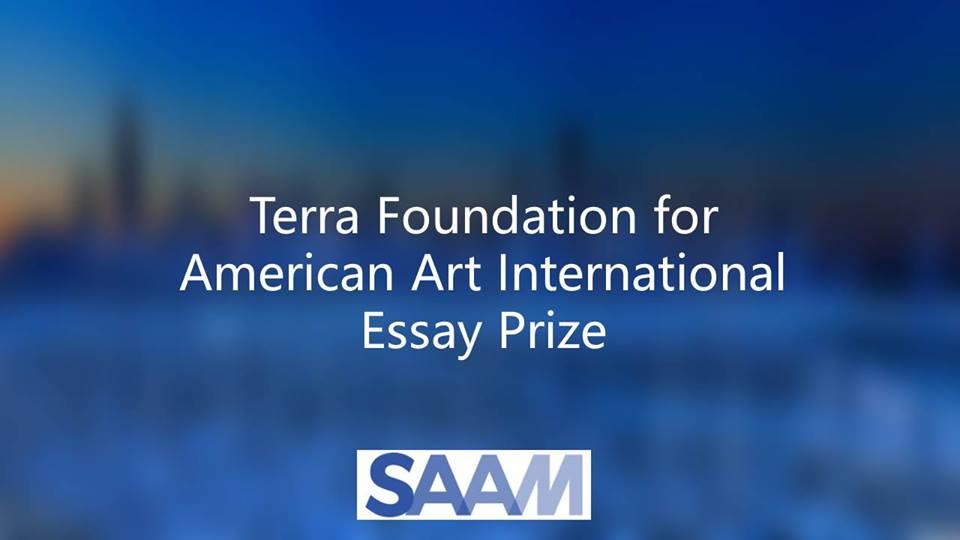 Terra Foundation for American Art International Essay Prize 2019