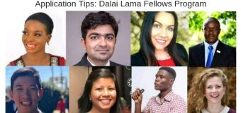 Tips for applying to the Dalai Lama Fellowship Program for Emerging Leaders – Alumni share Experiences!