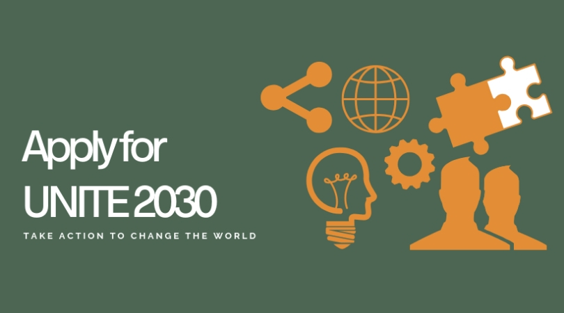 Apply to attend UNITE 2030 Summit 2019 for Young Worldchangers