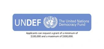 United Nations Democracy Fund (UNDEF) Funding Program for CSOs 2019